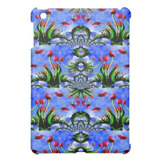 Festival of Red Tulips Cute Floral Design iPad Mini Case