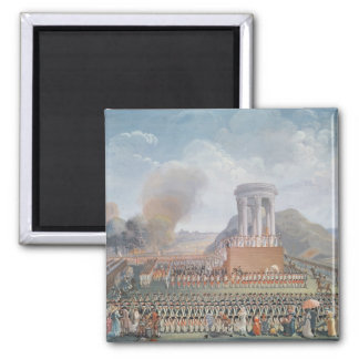 Festival of the Federation, 14th July 1790 2 Inch Square Magnet