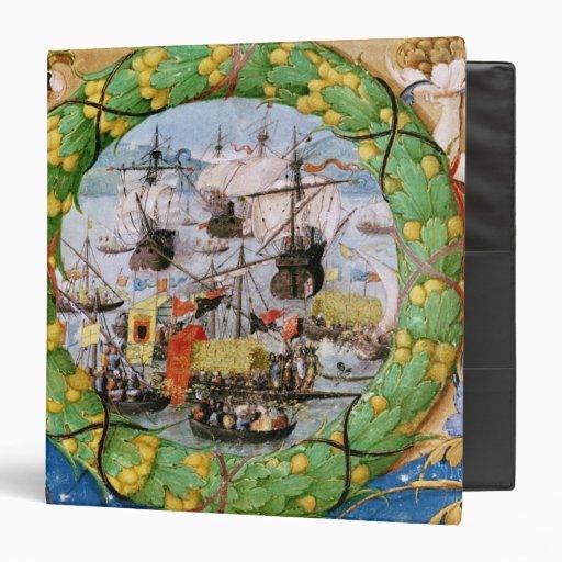 Festival of the Portuguese Fleet 3 Ring Binder