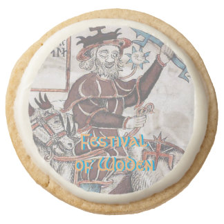 Festival of Woden Party Food: Shortbread Round Shortbread Cookie