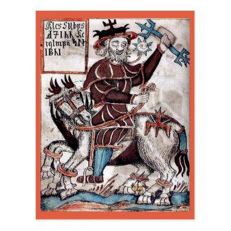 Festival of Woden Postcard