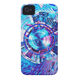 Festival Psychedelic Rave Portal iPhone 4 Case-Mate Case