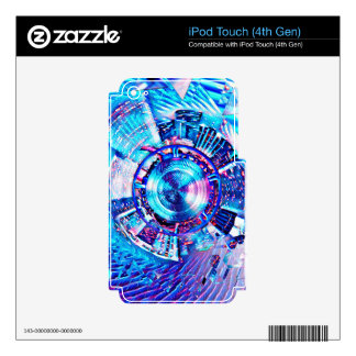 Festival Psychedelic Rave Portal Skins For iPod Touch 4G