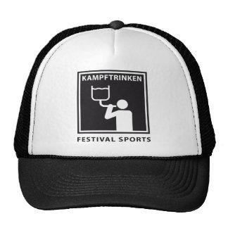 Festival sports gorros bordados