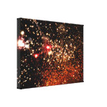Festival Stretched Canvas Print