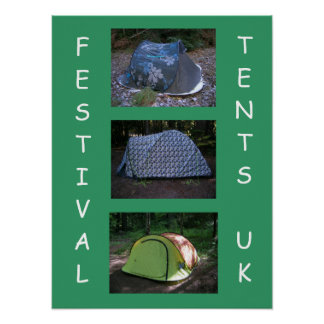 Festival Tents Poster