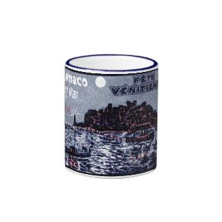 Festival veneciano 1914 de Mónaco Tazas De Café