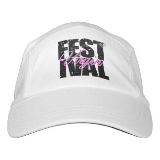 Festival Virgin (blk) Headsweats Hat