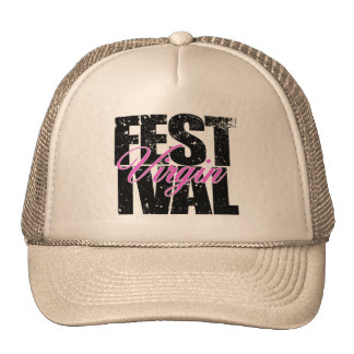 Festival Virgin (blk) Trucker Hat