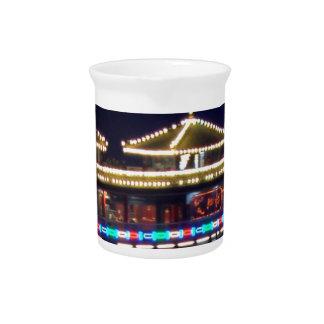 FESTIVALS : Chinese Sparkle Light BOAT Beverage Pitcher