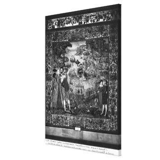 Festivals of Henri III Canvas Print