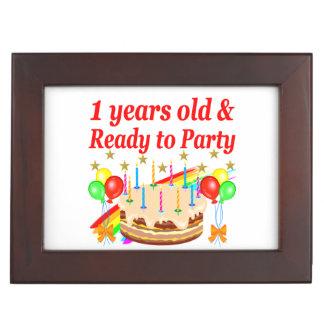 FESTIVE 1ST BIRTHDAY PARTY DESIGN MEMORY BOX