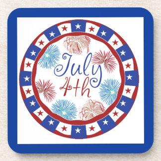 Festive 4th of July Coaster