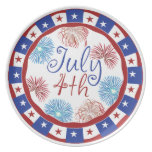 Festive 4th of July Plate