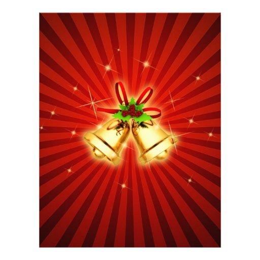 Festive Bells Letterhead Template