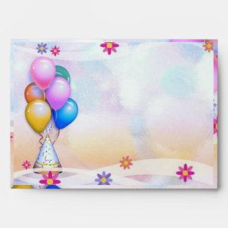 Festive Birthday Envelope