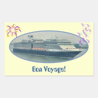 Festive Bon Voyage Sticker