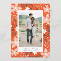 Festive Botanical Holiday Photo Card