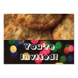 Festive Bright Holiday Cookie Exchange Party Personalized Invitations
