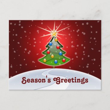 Festive business christmas greeting postcards m4hsunfo