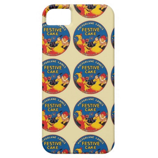Festive Cake Label iPhone 5 Covers