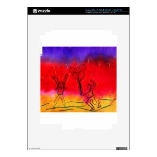Festive Celebration Decal For iPad 3