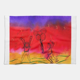 Festive Celebration Kitchen Towel