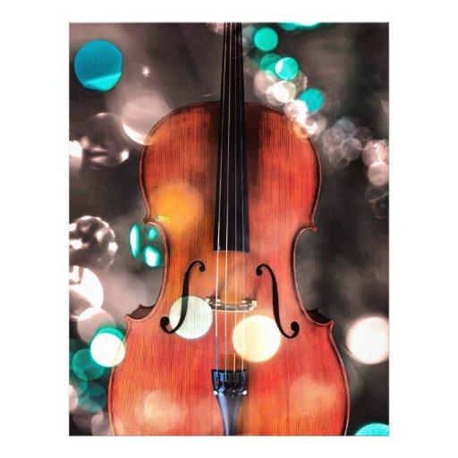 Festive Cello Letterhead Design