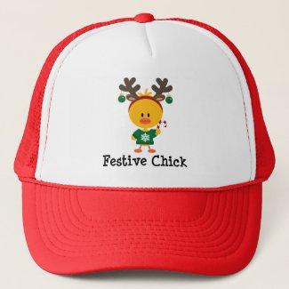 Festive Chick Hat