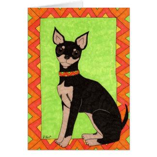 Festive Chihuahua Card