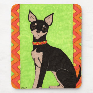 Festive Chihuahua Mouse Pad