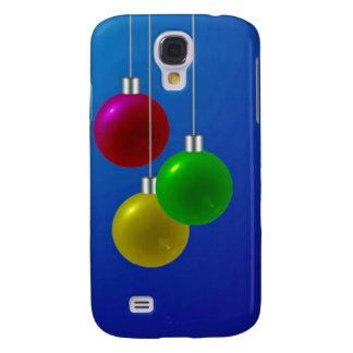 Festive Christmas Baubles Samsung Galaxy S4 Cover