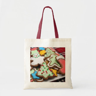Festive Christmas Gingerbread Cookies Tote Bag