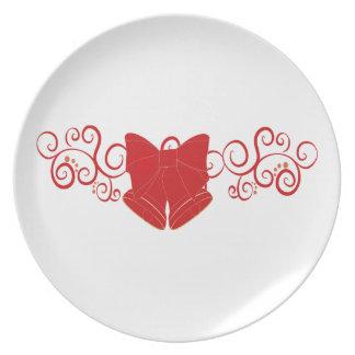 Festive Christmas Plate