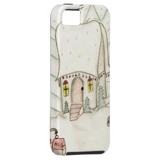 Festive Christmas Scene iPhone SE/5/5s Case