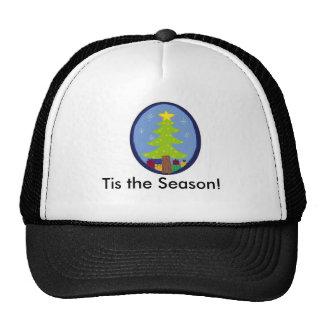 Festive Christmas Scene Trucker Hat