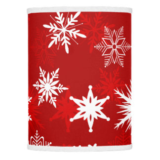 Festive Christmas snowflakes Lamp Shade