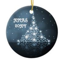 festive christmas tree ornaments