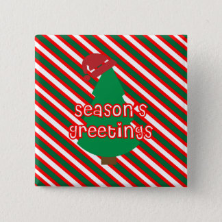 Festive Christmas Tree Pin