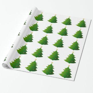 Festive Christmas Tree Gift Wrap