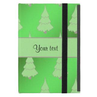 Festive Christmas Trees Cover For iPad Mini