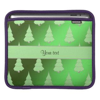 Festive Christmas Trees Sleeve For iPads