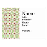 Festive Christmas Wreath and Star Pattern Large Business Cards (Pack Of 100)