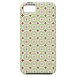 Festive Christmas Wreath and Star Pattern iPhone 5 Covers