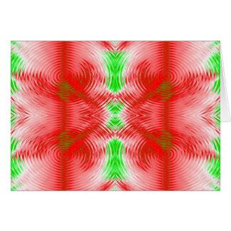 festive circles card