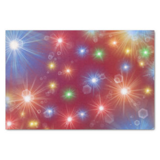 festive, colorful, cheerful pattern tissue paper