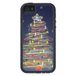 Festive Colorful Christmas Tree (Customize It!) iPhone 5 Case
