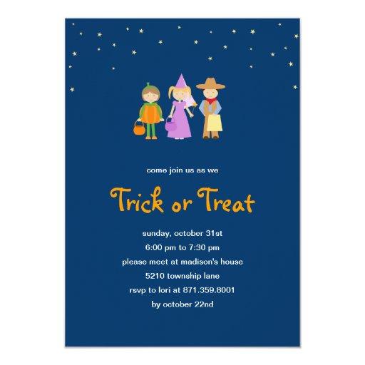 Festive Costumes Halloween Party Invitation
