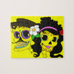 Festive Day of the Dead Art Jigsaw Puzzle