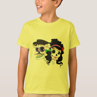 Festive Day of the Dead Art T-Shirt